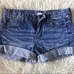 Cuffed J.Crew shorts